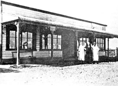 West Melton Store, 1922