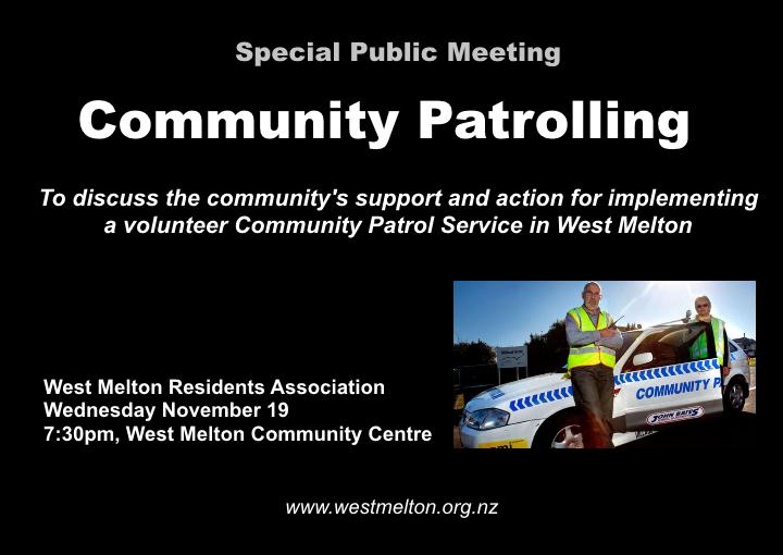 community_patrolling